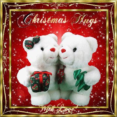 christmas hugs  holiday cheer ecards greeting cards