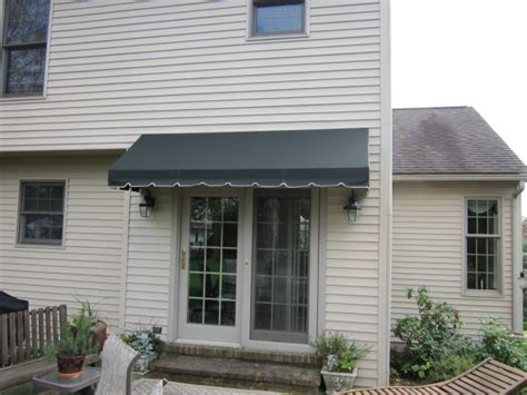 french door awnings doorhood awning over a french door kreider s canvas service inc