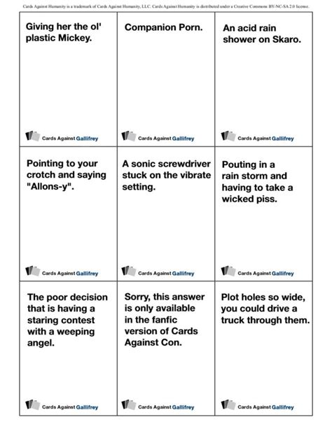 cards against humanity template best 25 cards against humanity printable ideas on
