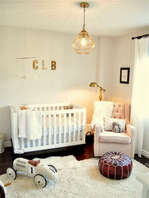 sweet baby nursery interior adorable home