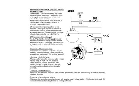 delco cs144 series wire diagram delco free wiring diagrams