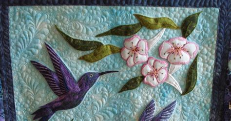 Hummingbird Quilts by The Nifty Stitcher Quilt Festival Fall 2013