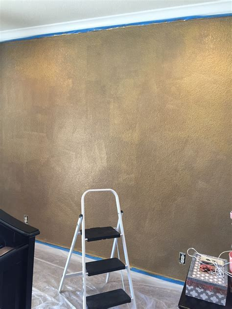 Wand Gold Streichen by Gold Wall Paint Www Imgkid The Image Kid Has It