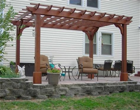 red cedar pergola kits pergola gazebo ideas