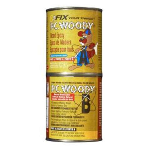 pc products 48 oz pc woody wood epoxy paste 643334 the