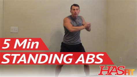 standing abs workout standing ab exercises abdominal exercise standing