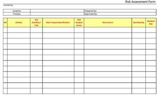 hira risk assessment template application risk assessment template virtren