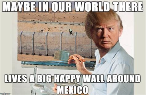 Bob Ross Memes - donald ross and his little happy wall imgflip