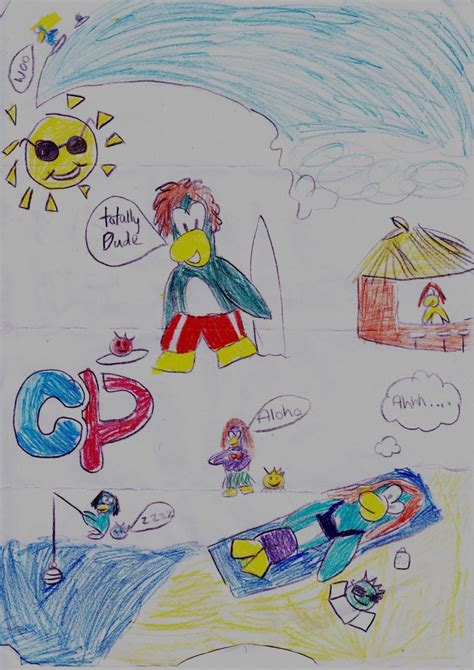 doodle fan club club penguin doodle by lucycupcake on deviantart
