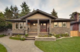 Build My House by Burnaby Bungalow Renovation Contemporary Exterior