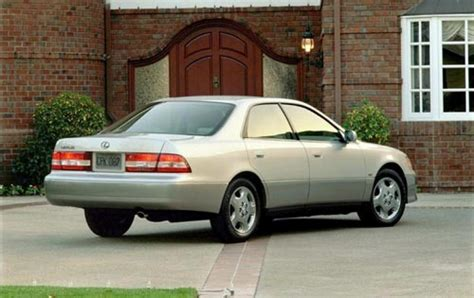 lexus sedan 2001 2001 lexus es 300 information and photos zombiedrive