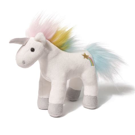 Boneka Unicorn Chatters Magical Sound Plush 6 Inch Gund gund unicorn chatters 6 inches natures collection soft
