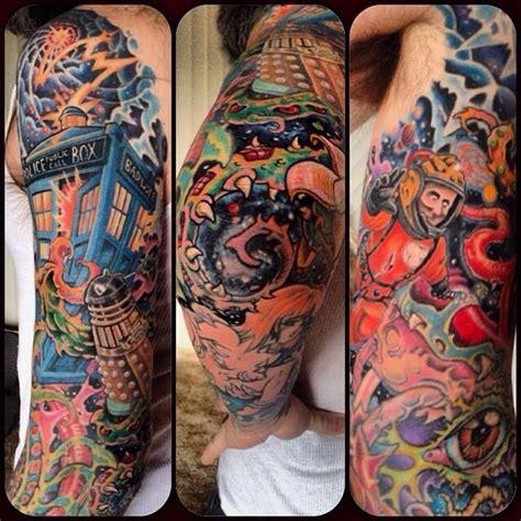 vladzilla com 187 doctor who tardis tattoo complete