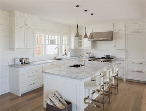 Shiplap Kitchen Backsplash Small Coastal Room Interior Studio Design Gallery