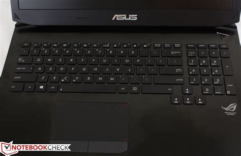 Asus Rog G750jw Db71 Notebook Review review asus g750jw notebook notebookcheck net reviews
