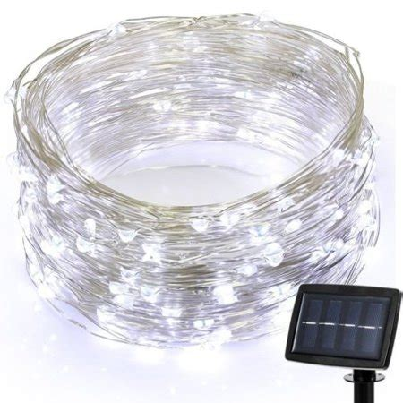 ft  waterproof solar powered  led copper wire