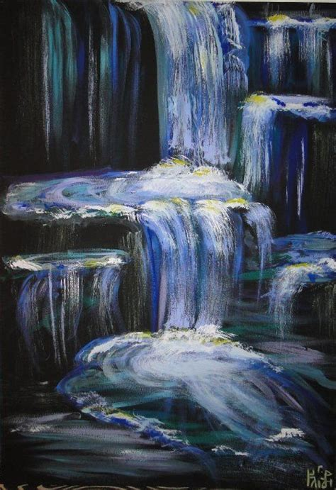 paint with a twist pinellas park waterfalls acrylic my paintings acrylics