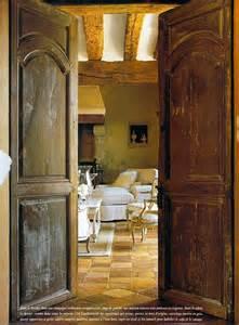 antique doors velvet linen