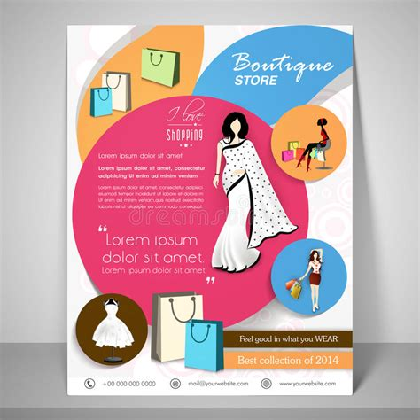 Boutique Store Template Banner Or Flyer Design Stock Photo Image 56061142 Boutique Flyer Template