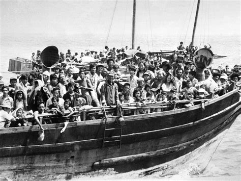 vietnamese boat stories refugee crisis son of vietnamese boat people shares