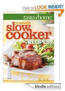 taste of home cookbook 2013 taste of home summer slow cooker recipes cookbook for free