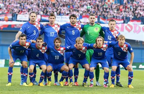 Kaos National Football Croatia 01 world cup 2014 all team all player biography schedule