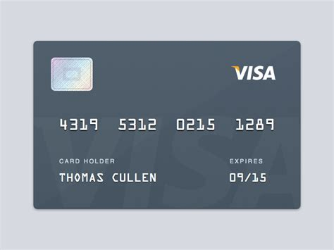 Visa Card Template by Visa Credit Debit Card Visa Sketch Template Sketch