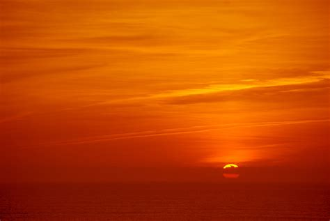 orange sunset by evelivesey on deviantart