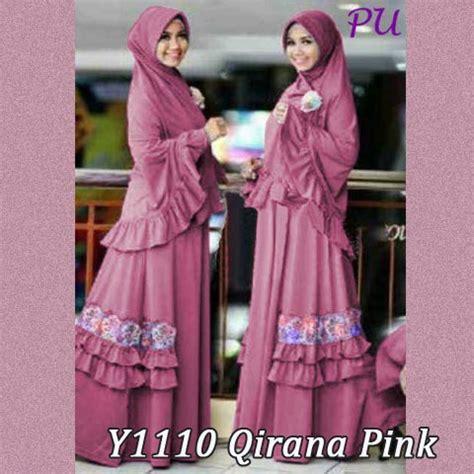 Jilbab Mini Pad Size Fit To L Grosir Jilbab Instan Murah baju gamis bergo qirana renda y1110 busana muslim syari