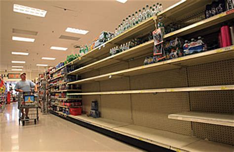 qualm before the east coasters clean out store