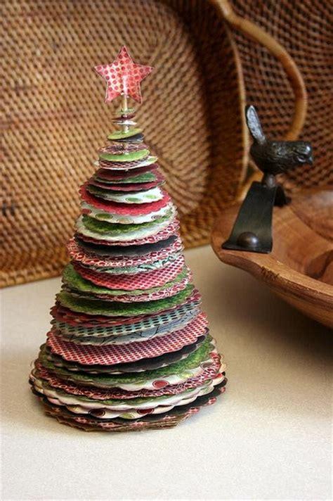 c 243 mo hacer un 225 rbol de navidad de mesa con retales de tela