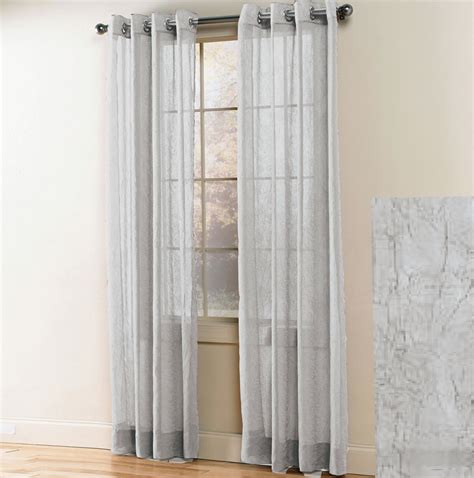 white sheer curtains with designs white sheer grommet curtains home design ideas