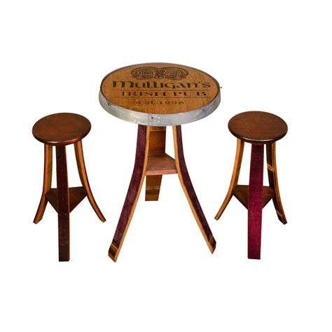 pub chairs personalized pub table set painted