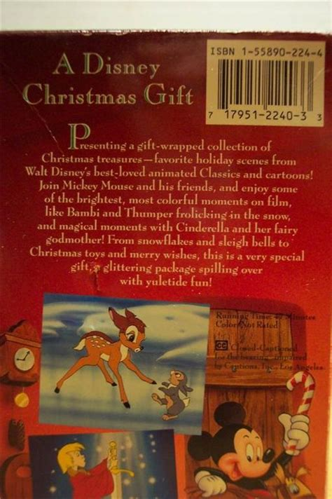 a disney christmas gift vhs video ad 2149043 addoway