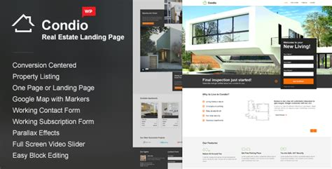 One Page Real Estate Website Templates 55 Excellent Real Estate Website Templates Free Premium One Page Real Estate Website Templates