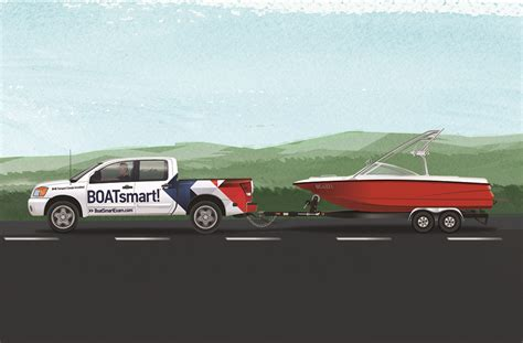 driving boat on trailer transporting your boat resources