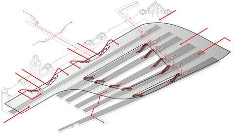 Grage Plans Gallery Of The Flinders Street Station Shortlisted