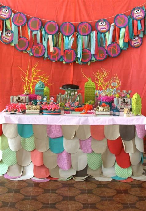 party ideas kara s party ideas girly owl birthday party planning ideas