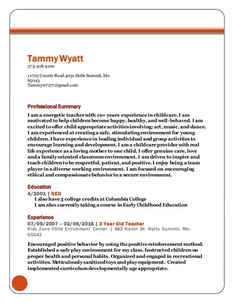 Resumes By Tammy by Tammy Wyatt Resume 2016