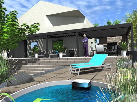 Patio Spa Terrasse by Amenagement Terrasse Avec Spa Patio Avec Spa With