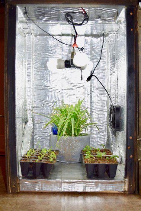 diy grow boxes  control  growing environment