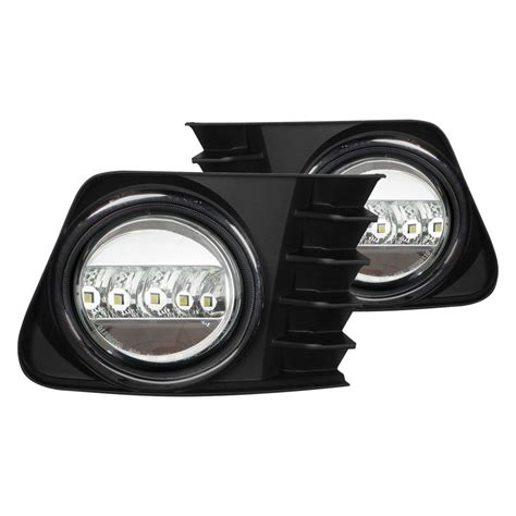automotive led light kits auer automotive 174 tpv 501 blackout style led daytime