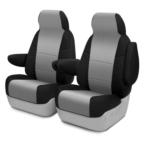 seat slipcovers coverking 174 csc2a3ch8807 neosupreme 1st row black gray