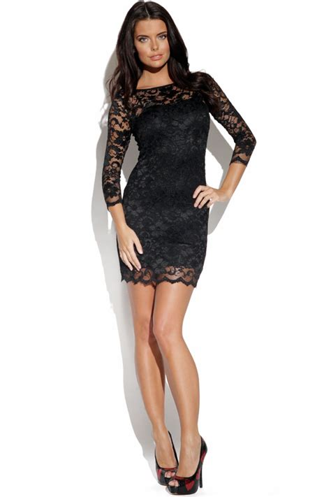 Black Lace Dress   Dressed Up Girl