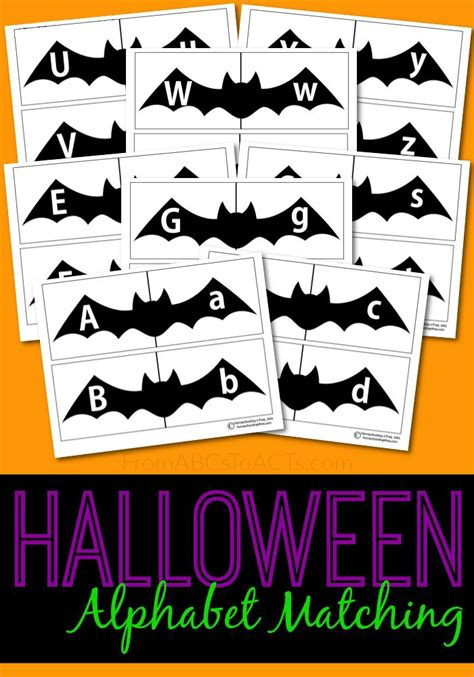 printable letters halloween printable halloween alphabet puzzles them letter