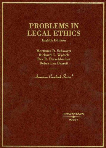 problems in ethics american casebook series
