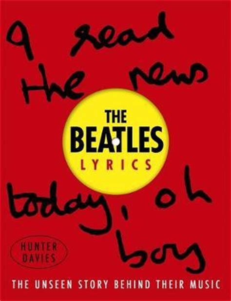 picture book lyrics the beatles lyrics davies 9780297608127