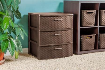 sterilite 4 drawer wide weave tower espresso 1 pack sterilite 25306p01 3 drawer wide weave tower espresso
