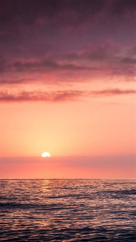 wallpaper for iphone 6 sea sunset sea beach sky red iphone 6 plus wallpaper