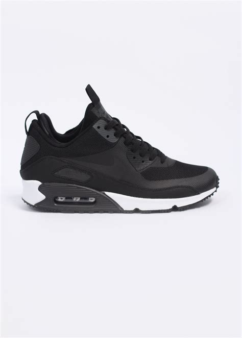 nike mens sneaker boots nike air max 90 sneaker boot trainers black